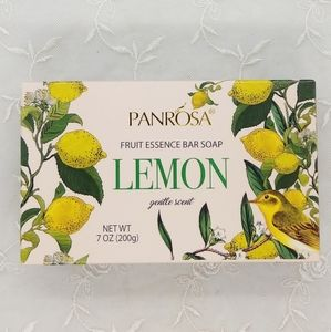 Panrosa Lemon Fruit Essence Bar Soap